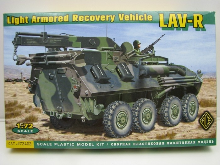 LAV-R Light Armored Recovery Vehicle 1:72 ACE